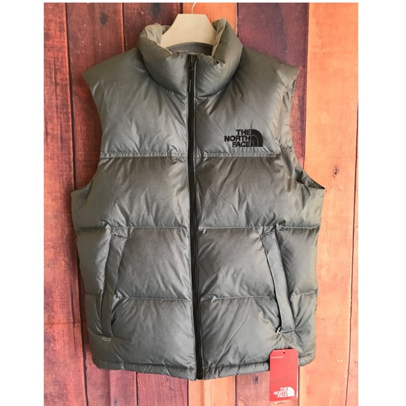 902531447425 The North Face Nuptse Vest XS Metallic Silver NWT